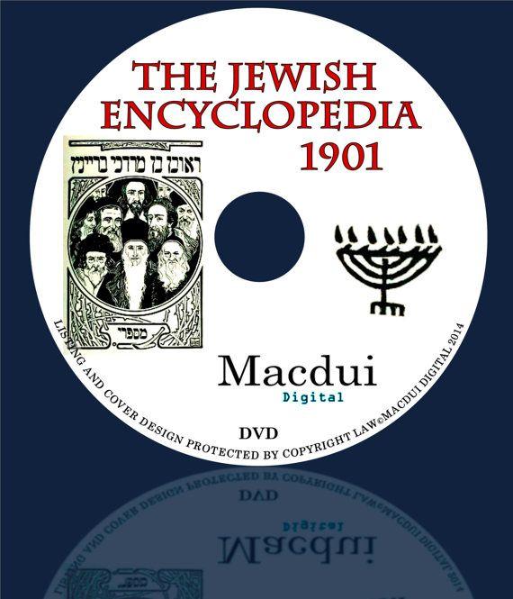 The Jewish Encyclopedia 1901 PDF 12 E-Books on 1 by MacduiDigital