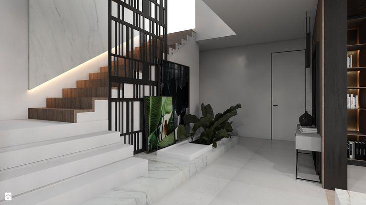 Hol / Przedpokój styl Minimalistyczny - zdjęcie od A2 STUDIO pracownia architektury - Hol / Przedpokój - Styl Minimalistyczny - A2…
