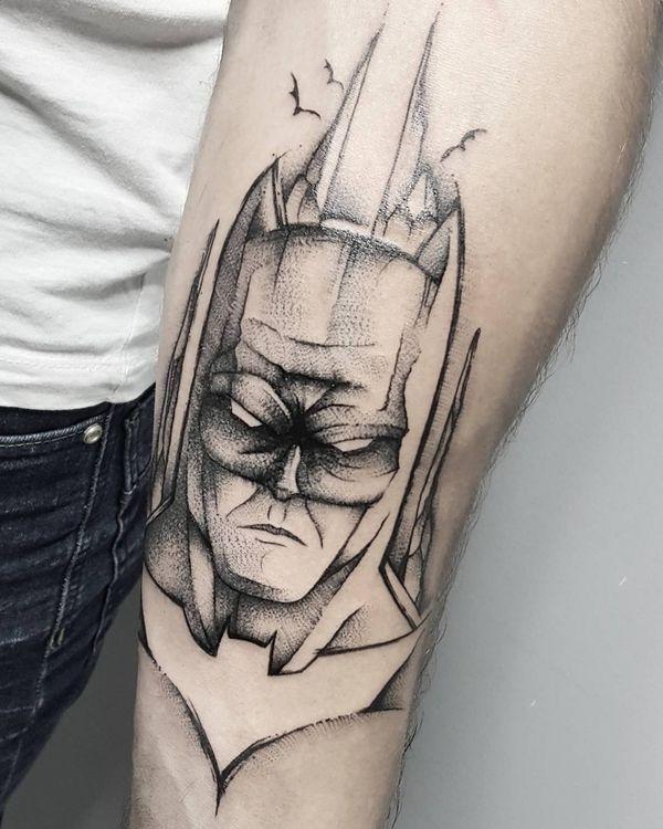 Cool Tattoo Ideas For Men And Women The Wild Tattoo Design Pictures 2019 Tatouage Batman Modele Tatouage Tatouage