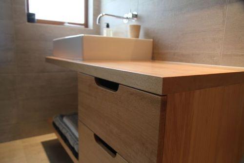Custom Made & Designed Furniture - NZ • Oak Shop Counter