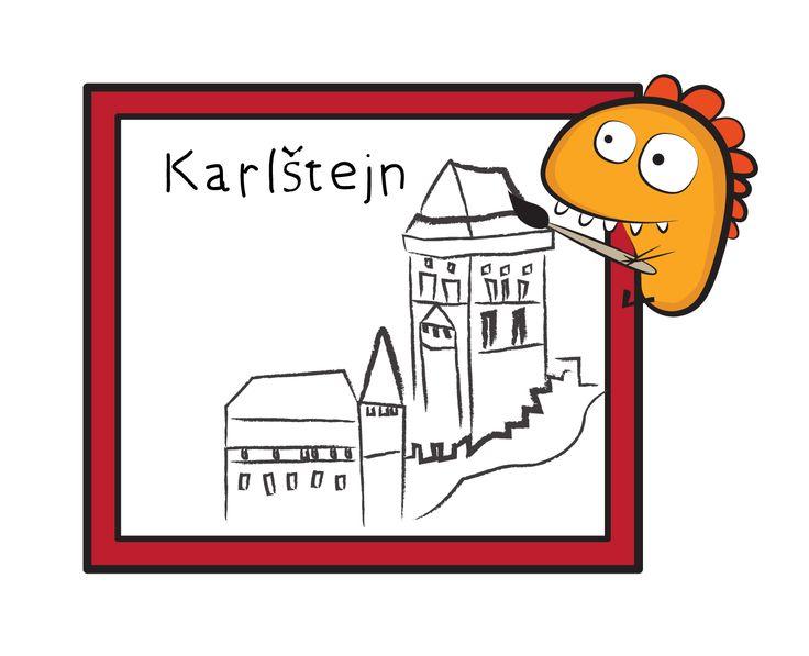 Audino kresli Karlstejn