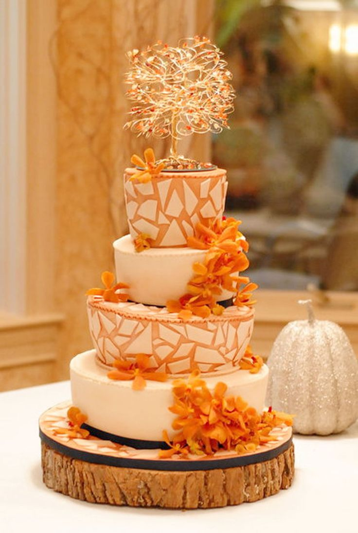 Rustic Wedding Cakes Orange County