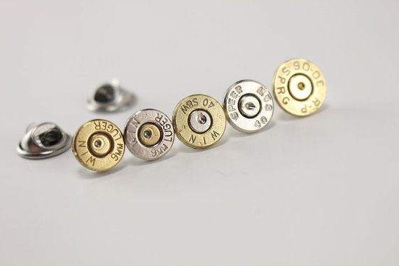 Bullet Tie Tack – Bullet Hat Pin – Valentines Day Gifts For Him – Gifts for Husband – Valentines Day Gifts for boyfriend – Groom Gift