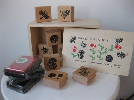 MooieMaandag Stamp set Garden