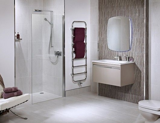 Utopia halo ceramic modular unit feature wall aluminium for Bathroom wet wall designs