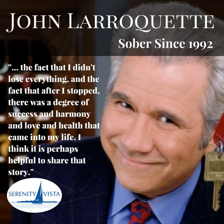 always in night court johnlarroquette gives a great recovery talk