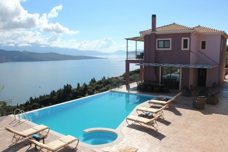 Holiday Villa in Lefkada, Greece - Luxury Lefkadas villas complex with breathtaking sea views