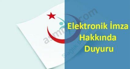 Sosyal Güvenlik Kurumu Başkanlığı tarafından Güvenli Elektronik İmza Uygulaması hakkında duyuru yayımlandı.