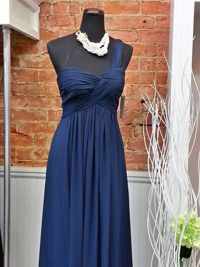Maids Monday: Nautical Bridesmaid Gowns: Bridal and Formal.....Bill Levkoff #736