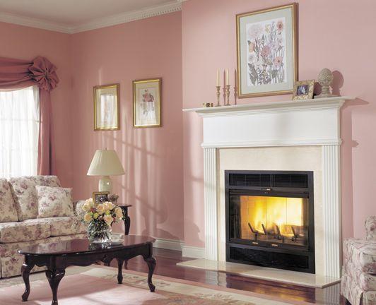 82 best Wood burning fireplace images on Pinterest | Fireplace ...