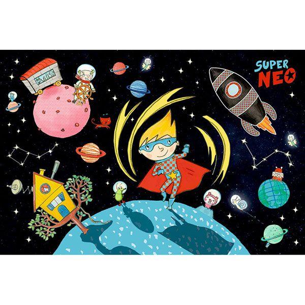 Παζλ φωσφοριζέ «Super Neo» (72 τμχ)
