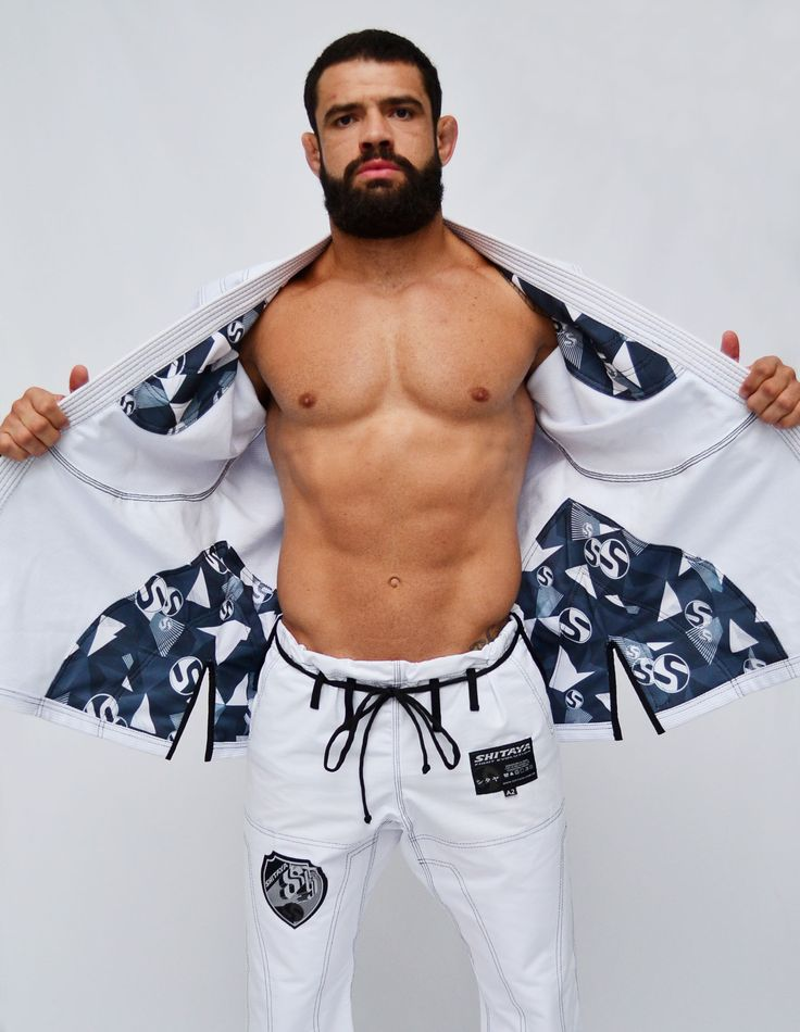 Kimono Jiu-jitsu NEWXTREME BRANCO - Masculino - Produtos Shitaya Bjj JiuJitsu ShitayaKimonos kimonosShitaya Kimonos brazilian jiu jitsu faixa preta black belt