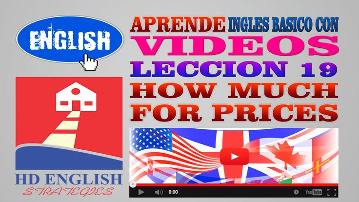 Aprende Ingles Basico Leccion 19 How much is it?