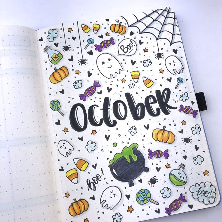 How to setup your Dingbats Notebook for October using a
