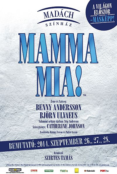 Mamma mia! plakát