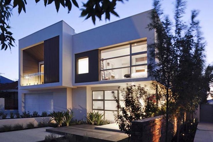 #Exteriormodernhousedesign two storey Modern House Design with Two storey