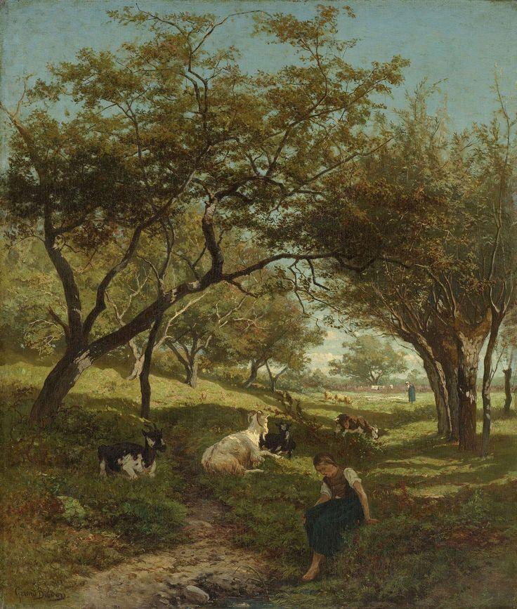 Geitenhoedster, Gerard Bilders, 1864