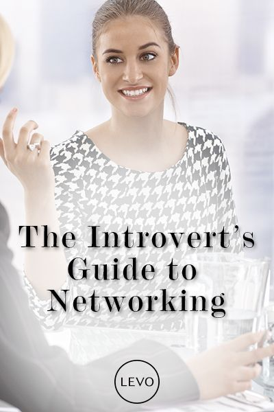 """Don't think of it as networking; think of it as seeking out kindred spirits."" - Susan Cain Here are 5 effective networking tips for introverts: www.levo.com/..."