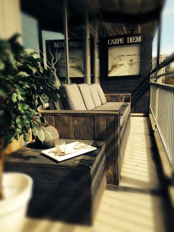 Bykif @ een balkon