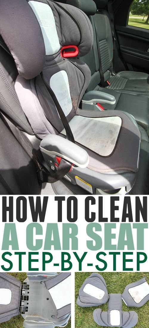 How to Clean a Car Seat Cover | The Creek Line House