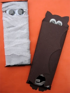27 DIY Creative Treat Bag/ Party Favor Ideas For Halloween