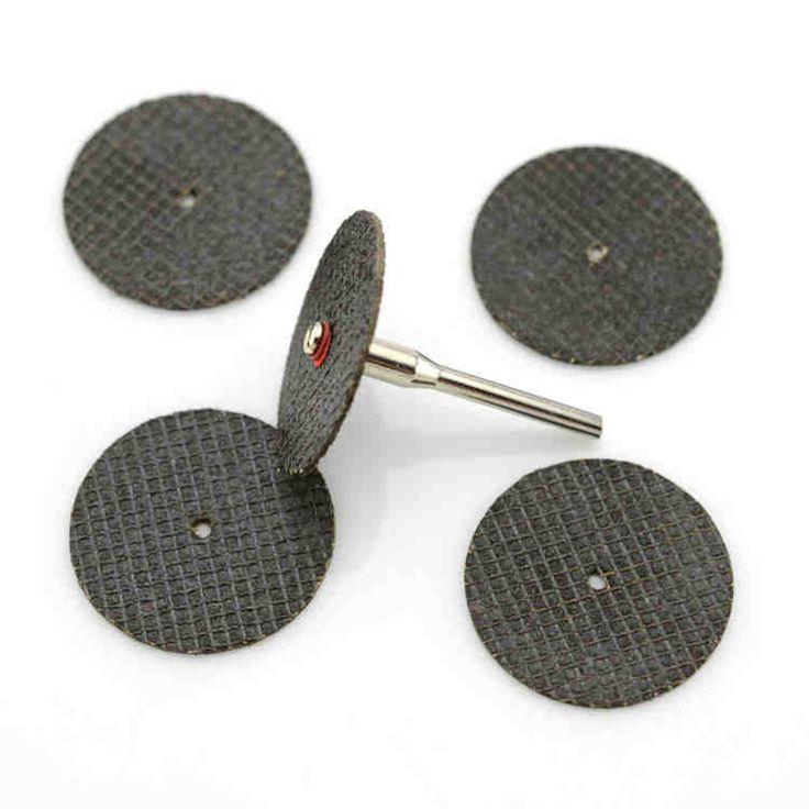 20 pc métal de coupe disque pour dremel grinder outil rotatif lame de scie circulaire dremel roue de coupe disque de ponçage outils de meulage roue