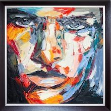 Noah - Oil on Canvas. Framed. Visit our online showroom for this and other items
