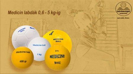 Medicin labda 0,6 - 5 kg