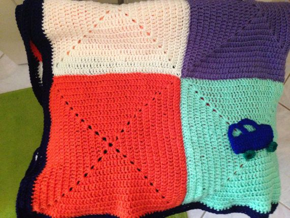Granny's  Square Blanket on Etsy, 250,00€