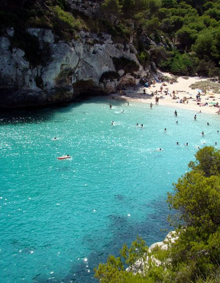 Cala Macarelleta, Menorca.