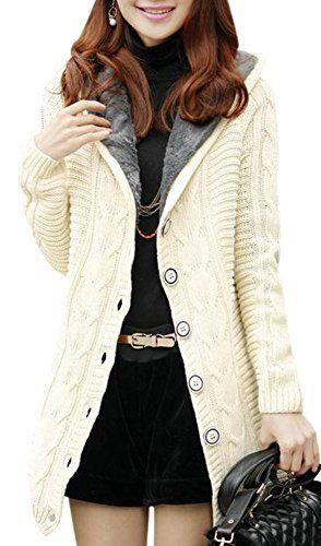 White Sweater Coat