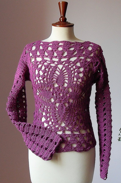 Urban Cool - Lace Crochet Sweater/Tank | Flickr - Photo Sharing!