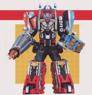 Drivemax Megazord - Power Rangers Operation Overdrive | Power Rangers Central