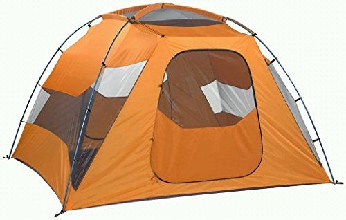 Generic Bright Big 6 Person Tent Color Orange ** Continue to the product at the image link.