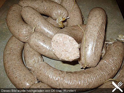 German Thuringian Liverwurst Recipe - Thuringer Leberwurst Rezept - This link is to the English Translation of the Original Post in German