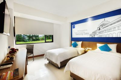 Pilihan baru untuk hotel murah di Bandung dekat stasiun kereta 2015