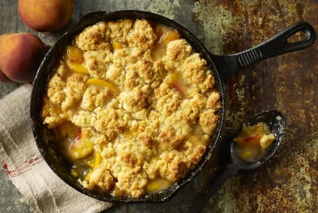 This quick and easy camping fruit cobbler recipe will satisfy any sweet-tooth at the campground. Trouble is keeping the wild animals away.