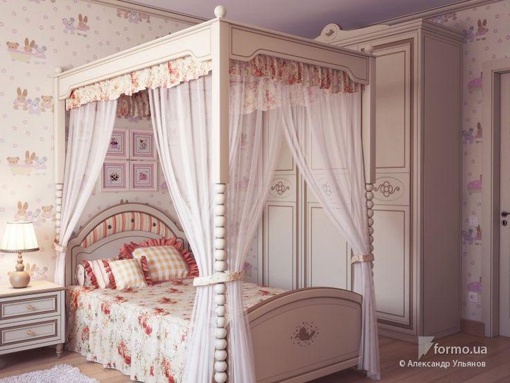 Комната маленькой принцессы, Александр Ульянов, Детская комната, Дизайн интерьеров Formo.ua