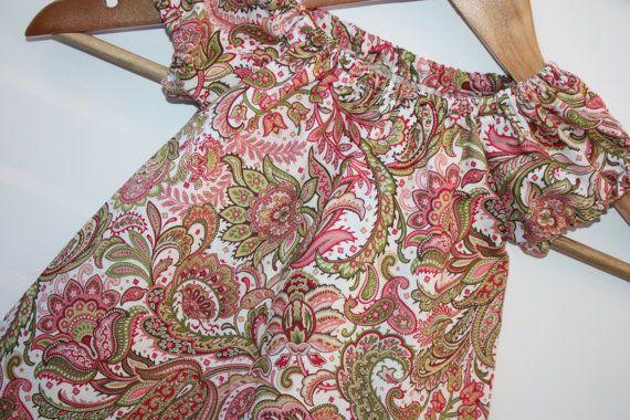 SALE  Size 6-12 mths  Toddler Dress  by RainbowSparklesBlue