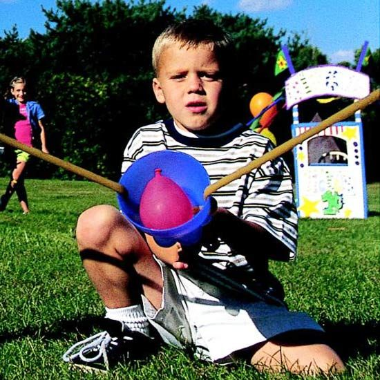How To Build A Water Balloon Slingshot