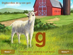 Digibordklankles de G van Geit