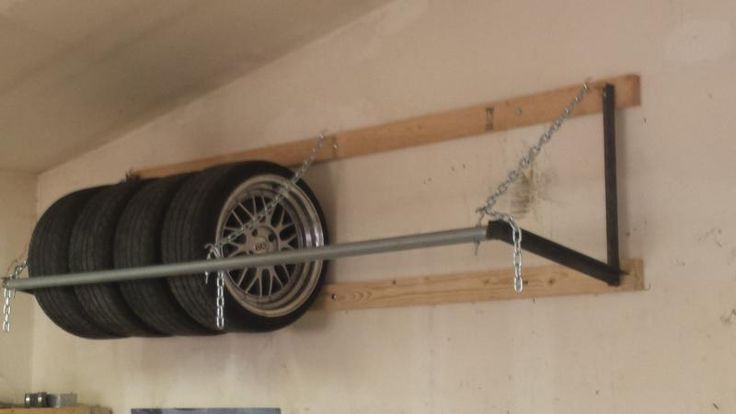 Wheel & Tire storage. the double wide| Tech Tips | forum |