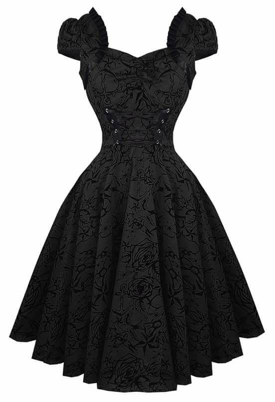 535fb344d6f Black  Dress  PartyDress  Gothic
