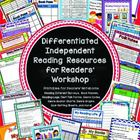 Interest Inventories and Differentiated Independent Readers' Workshop Resources | A-MAZING!!