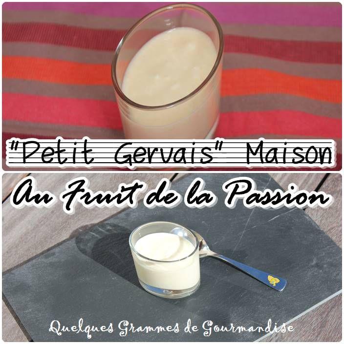 Recette Petit Gervais® Maison au Fruit de la Passion