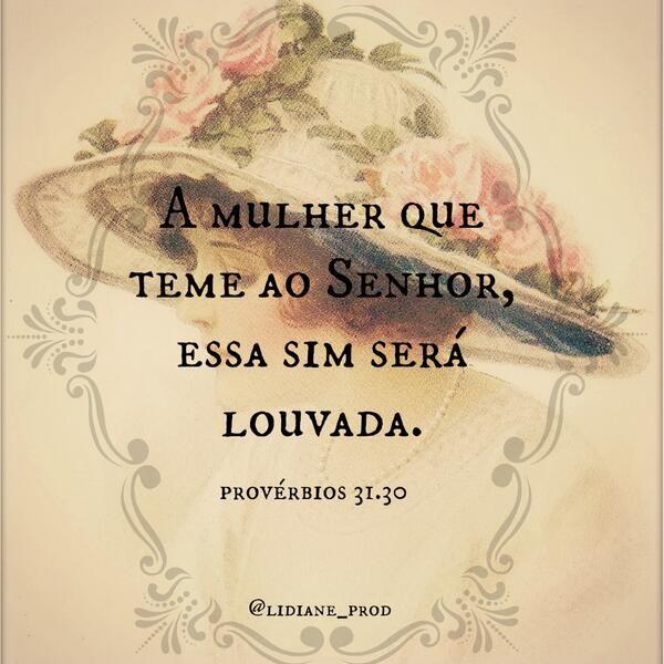 Provérbios.31.30 #LeiaaBíblia