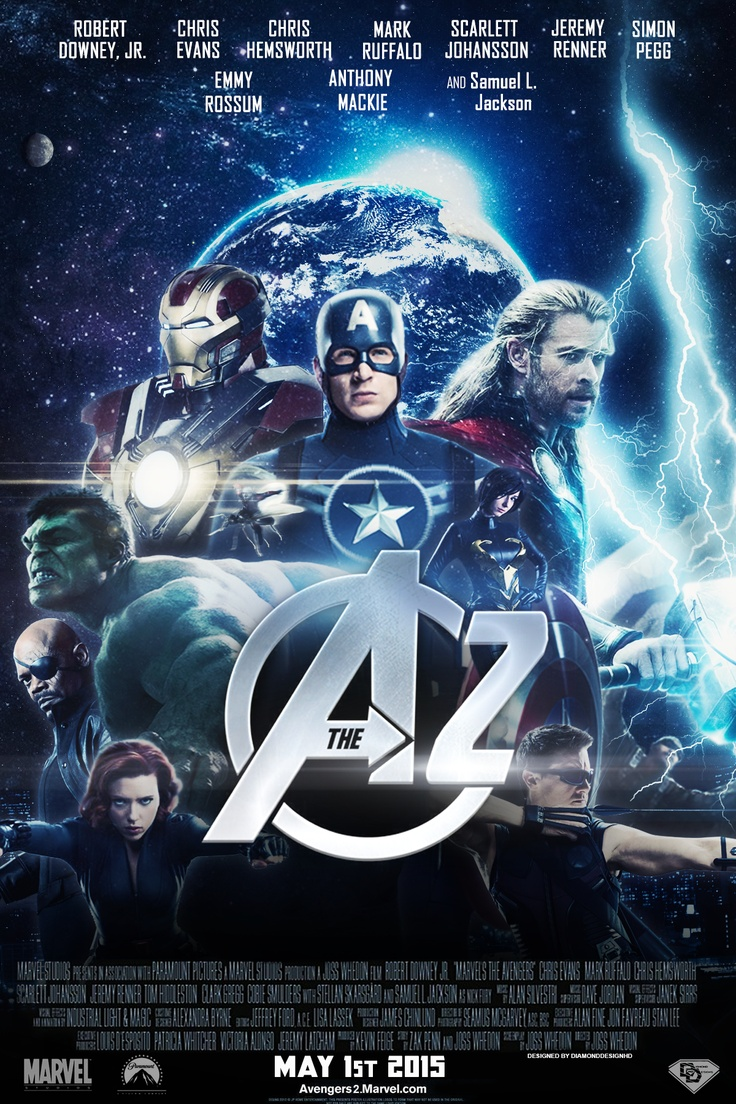 Movie Fan Magazines: 22 Best Images About Avengers 2 (Fan Made) Posters On