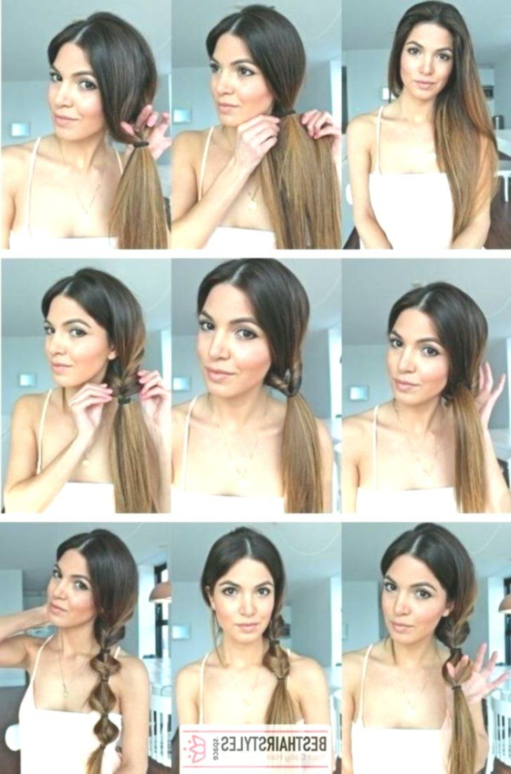 20 Hairstyles That You Can Do In Just 5 Minutes Besthairs
