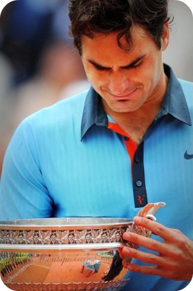 Roland Garros win, Roger Federer el tenista que mas veces a ganado el Roland Garros