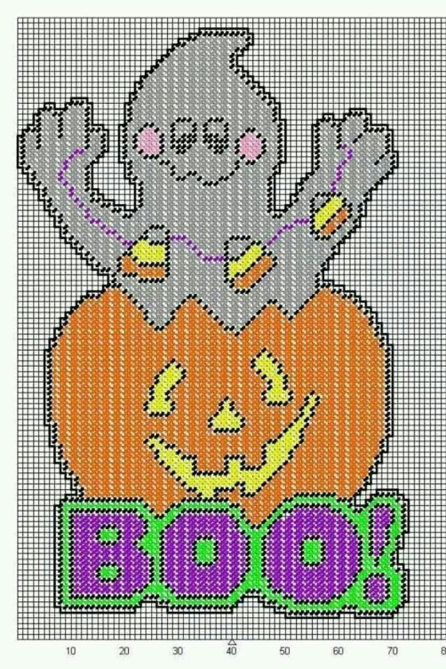 1168 best halloween plastic canvas images on pinterest